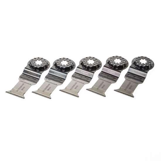 Afbeelding van Invalzaagblad met starlock aansluiting, 35x50mm, HCS, SL301, voor zachte houtsoorten, per 5 stuks verpakt