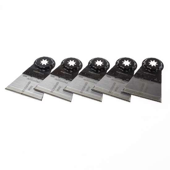 Afbeelding van Invalzaagblad, HCS, SLP300, 65x50mm, voor Starlock (Plus)  aansluiting, geschikt voor hout met spijkers en schroeven, verpakt per 5 stuks