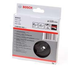 Afbeeldingen van Bosch Schuurplateau 125mm middel 2608601062