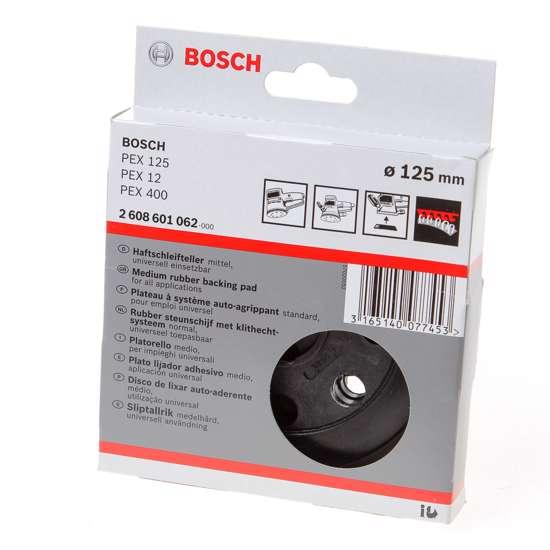 Afbeelding van Bosch Schuurplateau 125mm middel 2608601062