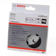 Afbeeldingen van Bosch Schuurplateau 125mm zacht 2608601063