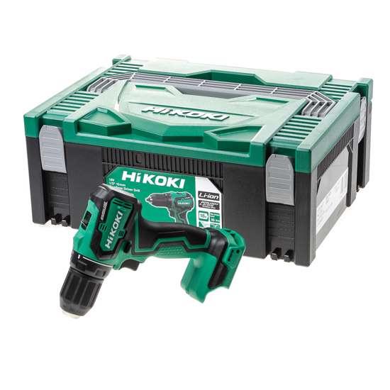 Afbeelding van HiKOKI DS18DD W2Z accu boor- schroefmachine 18V, exclusief accu's en lader, inclusief systainer HSC II